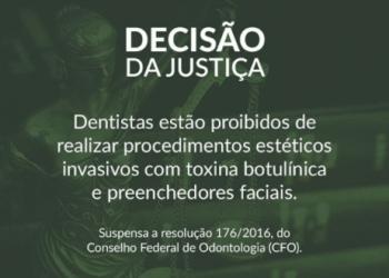 Justiça proíbe dentistas de realizar procedimentos estéticos invasivos