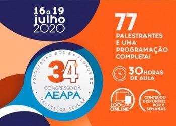 Vem aí o 34º Congresso da AEAPA